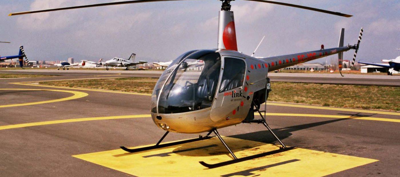 cursos piloto de helicoptero en Barcelona